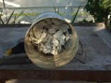 newspaper in charcoal chimney