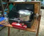 camp dishwashing