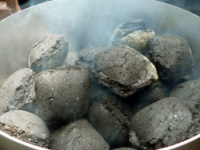 how to light charcoal