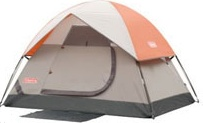 coleman family dome tent