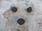 coals under charcoal chimney starter
