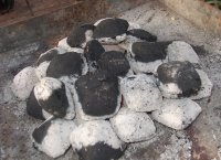 how to light charcoal grill